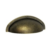 Komgreep Famke metaal brons 85 mm (64 mm h.o.h.)