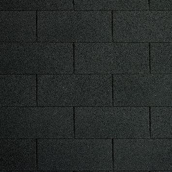 Shingles t.b.v. tuinhuis zwart incl. nagels 4 stuks 12 m²