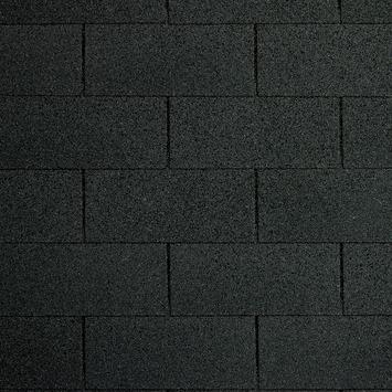 Shingles zwart voor garage Ohio incl. nagels 9 stuks 27 m²