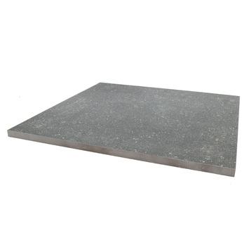 Terrastegel Keramisch Solid Stone Spots Licht Grijs 60x60 cm - 68 Tegels / 24,48 m2