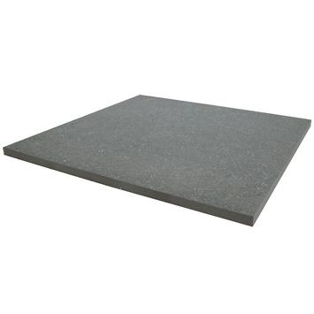Terrastegel Keramisch Solid Stone Spots Donker Grijs 60x60 cm - 68 Tegels / 24,48 m2