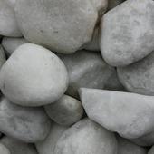 Keien Carrara wit 60-100 mm per pallet a 60 zakken