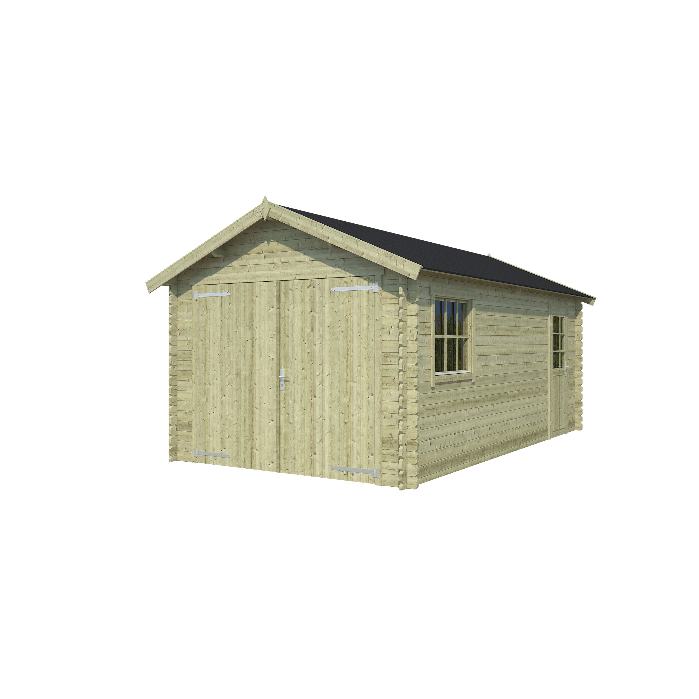 OLP Outdoor Life Products Tuinhuis Dillon 540 Groen gedompeld