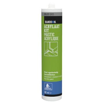 Handson acrylaatkit binnen en buiten grijs 310 ml