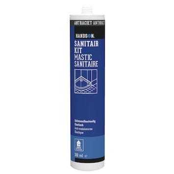 Handson sanitairkit antraciet 310 ml