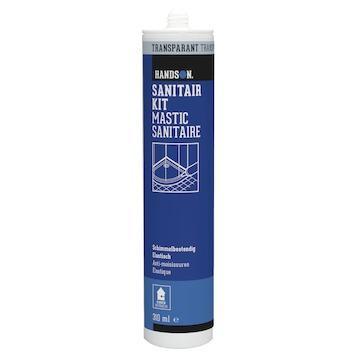 Handson sanitairkit transparant 310 ml
