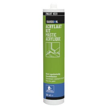 Handson acrylaatkit binnen/buiten zwart 310 ml