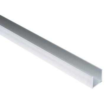 U-profiel aluminium 25x25xx25x2 mm 1 meter