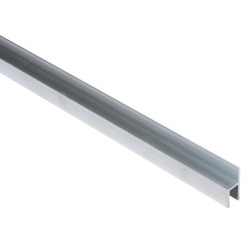 Essentials stoeltjesprofiel 26x8x1,5 mm 2000 mm aluminium brut