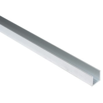 U-profiel aluminium 20x20x20x2 mm 2 meter