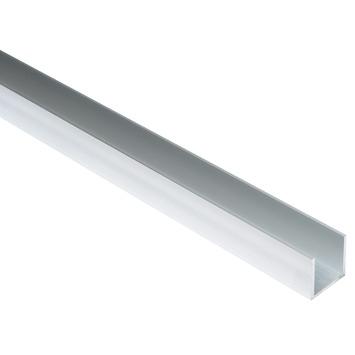 U-profiel aluminium 25x25xx25x2 mm 2 meter