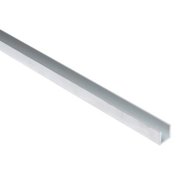 U-profiel aluminium 15x15x15x2 mm 2 meter