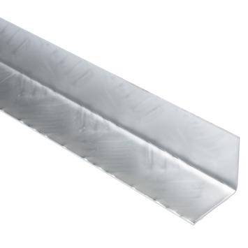 Hoek aluminium traan 40x40x1,5 mm 2 meter