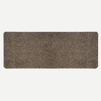 Mat Cotton Pro bruin 50x150