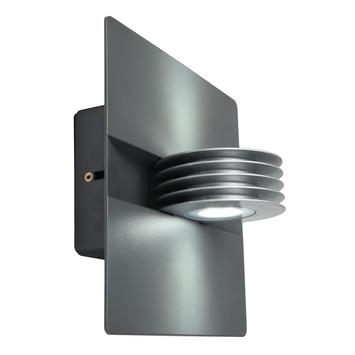 Lutec buitenlamp Split antraciet