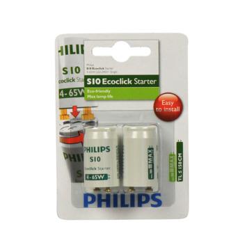 Philips Ecoclick starter S10 4-65W 2 stuks