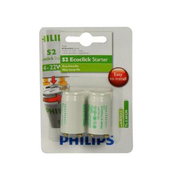 Philips Ecoclick starter S2 4-22W 2 stuks