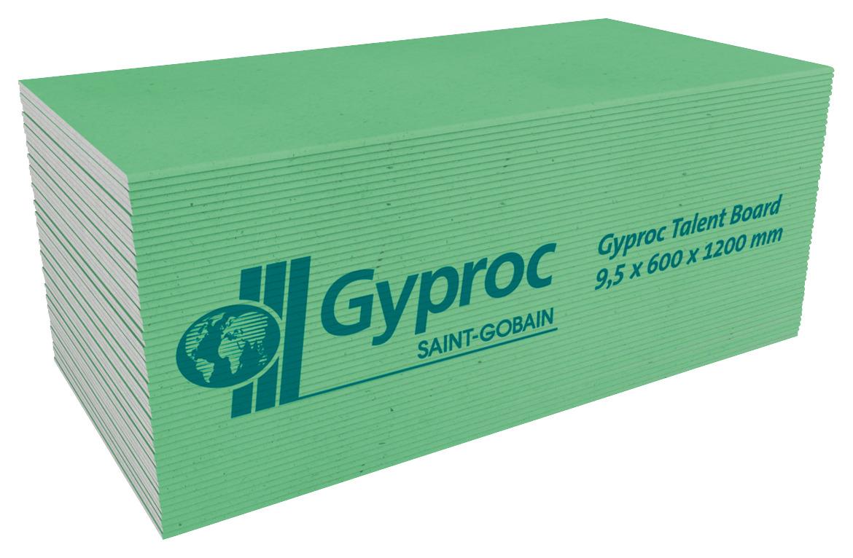 gyproc badkamer plafondplaat 120x60x0,95 cm | gipsplaten | gips, Badkamer
