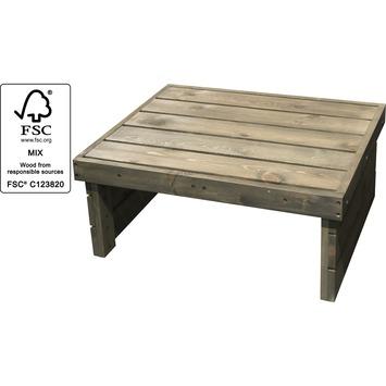 Jordi Tafel hout 70x59.2 cm