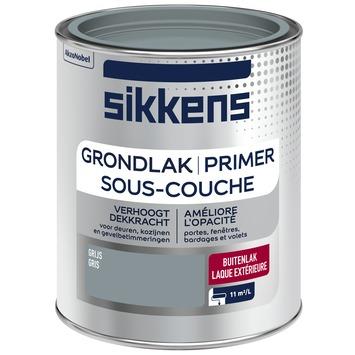 Sikkens grondlak buiten grijs 750 ml
