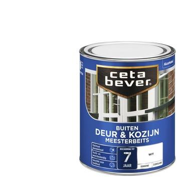 Cetabever deur & kozijn meesterbeits dekkend wit zijdeglans 750 ml