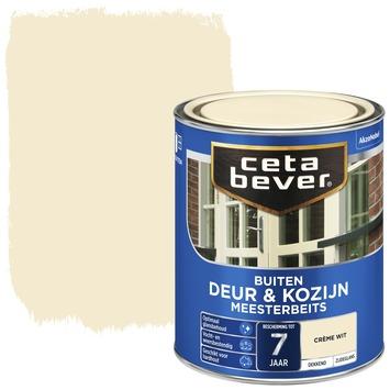 Cetabever deur & kozijn meesterbeits dekkend zijdeglans crèmewit 750 ml