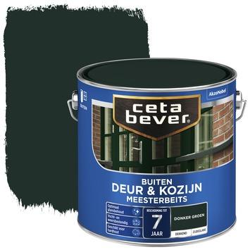 Cetabever deur & kozijn meesterbeits dekkend zijdeglans donkergroen 2,5 liter