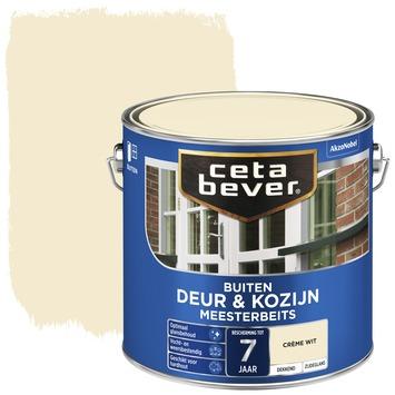 Cetabever deur & kozijn meesterbeits dekkend zijdeglans crème wit 2,5 liter