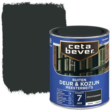Cetabever deur & kozijn meesterbeits dekkend zijdeglans grachtengroen 750 ml