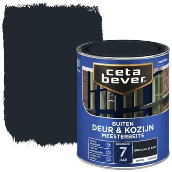 Cetabever deur & kozijn meesterbeits dekkend zijdeglans bretons blauw 750 ml