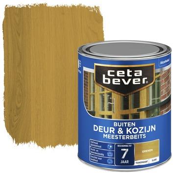 Cetabever deur & kozijn meesterbeits transparant grenen glans 750 ml