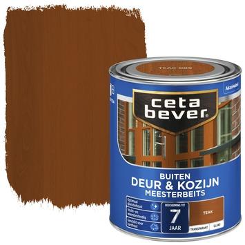 Cetabever deur & kozijn meesterbeits transparant teak glans 750 ml