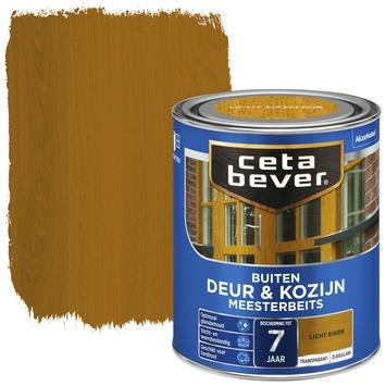Cetabever deur & kozijn meesterbeits transparant zijdeglans licht eiken 750 ml