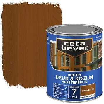 Cetabever deur & kozijn meesterbeits transparant zijdeglans donker eiken 750 ml