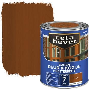 Cetabever deur & kozijn meesterbeits transparant zijdeglans teak 750 ml