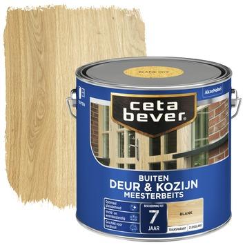 Cetabever deur & kozijn meesterbeits transparant zijdeglans blank 2,5 liter