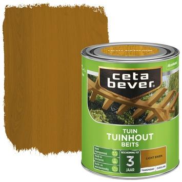 Cetabever tuinhout beits transparant licht eik zijdeglans 750 ml