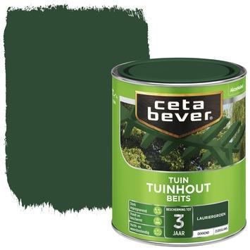 Cetabever tuinhout beits dekkend laurier groen zijdeglans 750 ml