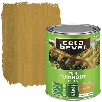 Cetabever tuinhout beits transparant grenen zijdeglans 750 ml