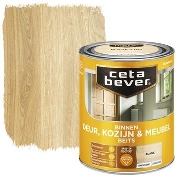 Cetabever deur, kozijn & meubelbeits transparant blank zijdeglans 750 ml