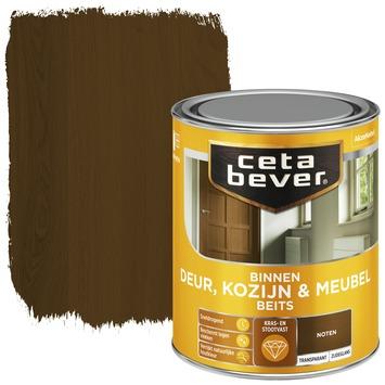Cetabever deur, kozijn & meubelbeits transparant noten zijdeglans 750 ml