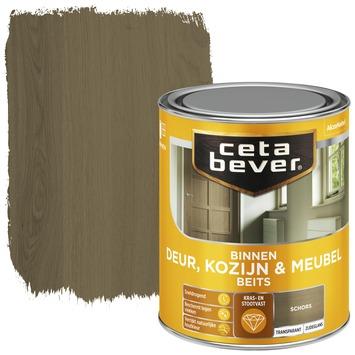 Cetabever deur, kozijn & meubelbeits transparant schors zijdeglans 750 ml