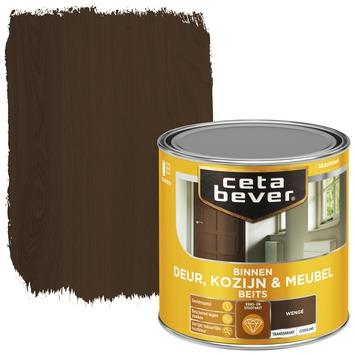 Cetabever deur, kozijn & meubelbeits transparant wenge zijdeglans 250 ml