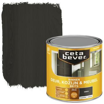 Cetabever deur, kozijn & meubelbeits transparant ebben zijdeglans 250 ml