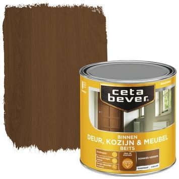 Cetabever deur, kozijn & meubelbeits transparant donker kersen zijdeglans 250 ml