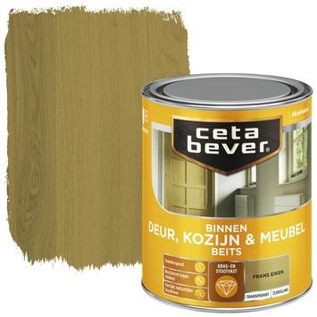 Cetabever deur, kozijn & meubelbeits transparant frans eiken zijdeglans 750 ml