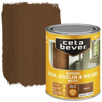 Cetabever deur, kozijn & meubelbeits transparant donker kersen zijdeglans 750 ml