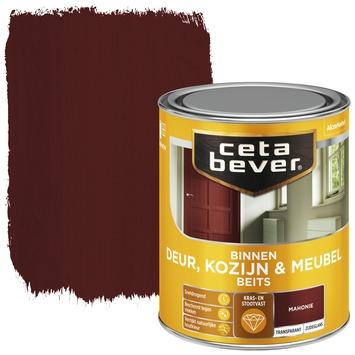 Cetabever deur, kozijn & meubelbeits transparant mahonie zijdeglans 750 ml