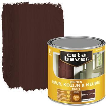 Cetabever deur, kozijn & meubelbeits transparant donker mahonie zijdeglans 250 ml