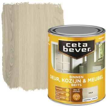 Cetabever deur, kozijn & meubelbeits transparant kalk zijdeglans 750 ml
